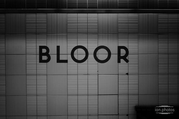Bloor Subway Toronto