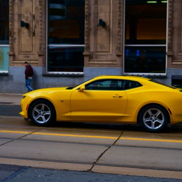 Yellow sports car | ian.photos