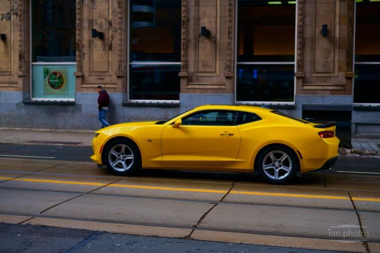 Yellow sports car | ian.photos