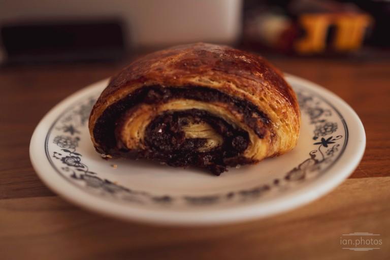 Chocolate Danish from Absolute Bakery   ian.photos